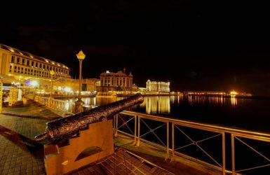 Caudan waterfront night tour Mauritius